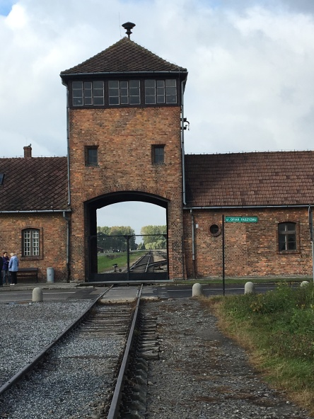 Entrance to Auschwitz - Birkenau