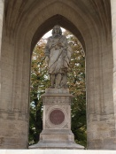 Blaise Pascal statue in Paris