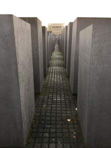 A memorial in Berlin for the murdered Jews
