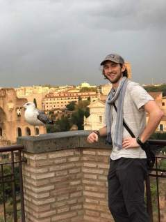 Rome and a seagull