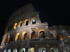 Coliseum at Night